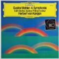 カラヤンのマーラー/交響曲第4番 独DGG 3101 LP レコード