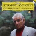 バーンスタインのシューマン/交響曲第1番「春」&第4番 独DGG 3101 LP レコード