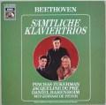 デュ・プレらのベートーヴェン/ピアノ三重奏曲全集 独EMI 3101 LP レコード