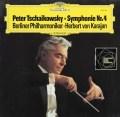カラヤンのチャイコフスキー/交響曲第4番 独DGG 3102 LP レコード