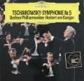 カラヤンのチャイコフスキー/交響曲第5番 独DGG 3102 LP レコード
