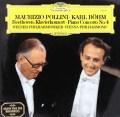 ポリーニ&ベームのベートーヴェン/ピアノ協奏曲第4番 独DGG 3102 LP レコード