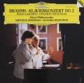 ツィマーマン&バーンスタインのブラームス/ピアノ協奏曲第2番    独DGG 3102 LP レコード