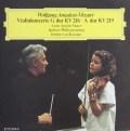 ムター&カラヤンのモーツァルト/ヴァイオリン協奏曲第3&5番 独ETERNA 3102 LP レコード