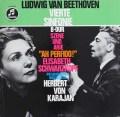 カラヤンのベートーヴェン/交響曲第4番ほか 独Columbia 3102 LP レコード