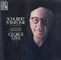 セルのシューベルト/交響曲第9番「ザ・グレイト」 独EMI   3102 LP レコード