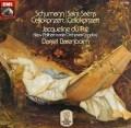 デュ・プレ&バレンボイムのシューマン/チェロ協奏曲ほか 独EMI 3102 LP レコード