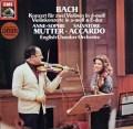 ムター&アッカルドのバッハ/2つのヴァイオリンのための協奏曲ほか  独EMI 3102 LP レコード