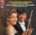 ムター&小澤のラロ/スペイン交響曲ほか   独EMI 3102 LP レコード