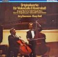 シュトール&バウマンのチェロとバスのための作品集 独TELEFUNKEN 3103 LP レコード