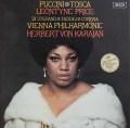 カラヤンのプッチーニ/「トスカ」全曲 英DECCA 3103 LP レコード