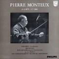 モントゥーのシューベルト/交響曲第8番「未完成」ほか 蘭PHILIPS 3103 LP レコード