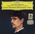 ミケランジェリのドビュッシー/「映像第1&2集」&「子供の領分」 独DGG 3103 LP レコード