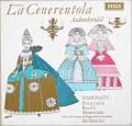 シミオナート&ファブリティースのロッシーニ/「チェネレントラ」全曲 独DECCA 3103 LP レコード