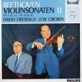 【オリジナル盤】 オイストラフ&オボーリンのベートーヴェン/ヴァイオリンソナタ第2&10番 蘭PHILIPS 3104 LP レコード