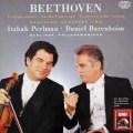 パールマン&バレンボイムのベートーヴェン/ヴァイオリン協奏曲ほか  独EMI 3104 LP レコード