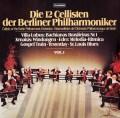ベルリン・フィルの12人のチェロ奏者たち vol.1  独TELEFUNKEN 3104 LP レコード