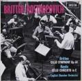 【オリジナル盤】 ロストロポーヴィチのブリテン&ハイドン/チェロ協奏曲  英DECCA 3104 LP レコード