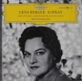エルナ・ベルガーのシューベルト、ブラームス& R.シュトラウス歌曲集 独DGG 3104 LP レコード