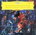【独最初期盤/赤ステレオ】 マルケヴィチのベルリオーズ/幻想交響曲 独DGG 3106 LP レコード