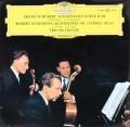 トリエステ・トリオのシューベルト&シューマン/ピアノ三重奏曲集 独DGG 3106 LP レコード