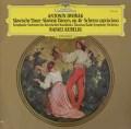 クーベリックのドヴォルザーク/スラヴ舞曲集作品46 独DGG 3106 LP レコード