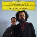 シノーポリのブソッティ/ベルククリスタル&ロレンザッチオ交響曲 独DGG 3106 LP レコード
