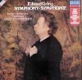 アンデルセンのグリーグ/交響曲ハ短調 蘭DECCA 3106 LP レコード