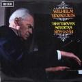 【オリジナル盤】 バックハウスのベートーヴェン/ピアノソナタ第3、13、24番 英DECCA 3106 LP レコード