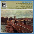 クリュイタンスのルーセル/交響曲第3&4番 仏EMI 3106 LP レコード