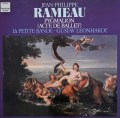 レオンハルトのラモー/「ピグマリオン」 独HM 3106 LP レコード