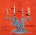 バルヒェット四重奏団のモーツァルト/弦楽四重奏曲第11〜13番 英VOX 3106 LP レコード