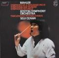 小澤のマーラー/交響曲第8番「千人の交響曲」 蘭PHILIPS 3107 LP レコード