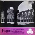 フルトヴェングラーのフランク/交響曲ニ短調 英DECCA 3108 LP レコード