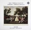 フィールドのモーツァルト/ヴァイオリン協奏曲第5番ほか 独TELEFUNKEN 3108 LP レコード