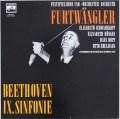 フルトヴェングラーのベートーヴェン/交響曲第9番 独ELECTROLA 3108 LP レコード