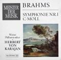 カラヤンのブラームス/交響曲第1番 独RCA 3109 LP レコード