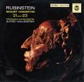 ルービンシュタイン&ウォーレンスタインのモーツァルト/ピアノ協奏曲第21&23番 独RCA 3109 LP レコード