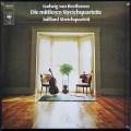 ジュリアード四重奏団のベートーヴェン/後期弦楽四重奏曲集 独CBS 3109 LP レコード