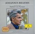 【ドイツ最初期盤】 カラヤンのブラームス/作品集 (交響曲全集、ヴァイオリン協奏曲、ドイツレ・クイエム) 独DGG 3109 LP レコード