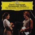 ダンチョフスカ&ツィメルマンのフランク/ヴァイオリン・ソナタほか 独DGG 3110 LP レコード