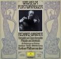 フルトヴェングラーのワーグナー/「マイスタージンガー」第1幕への前奏曲ほか 独DGG 3110 LP レコード