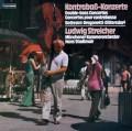 シュトライヒャーのコントラバスのための作品集 独TELEFUNKEN 3110 LP レコード