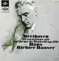 リヒター=ハーザーのベートーヴェン/ディアベリ変奏曲 仏Columbia 3110 LP レコード