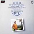パウク、今井、カーシュバウム&デイヴィスのティペット/三重協奏曲 蘭PHILIPS 3110 LP レコード