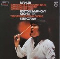 小澤のマーラー/交響曲第8番「千人の交響曲」 蘭PHILIPS 3110 LP レコード