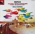 マリナーのレスピーギ/「鳥」&「ボッティチェッリの3枚の絵」 独EMI 3110 LP レコード