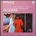 デイヴィスのシベリウス/交響曲全集 蘭PHILIPS 3110 LP レコード