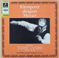 クレンペラーのモーツァルト/交響曲集 「ハフナー」「リンツ」「プラハ」「ジュピター」ほか 独Columbia 3110 LP レコード