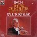 【未開封】 トルトゥリエのバッハ/無伴奏チェロ組曲全6曲 独EMI 3110 LP レコード